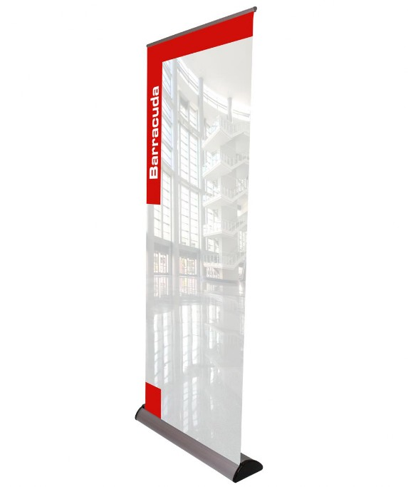 barracuda banner stand Glasgow