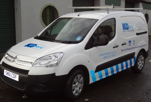 Vehicle Graphics Glasgow Van Signage Wrap Or Lettering