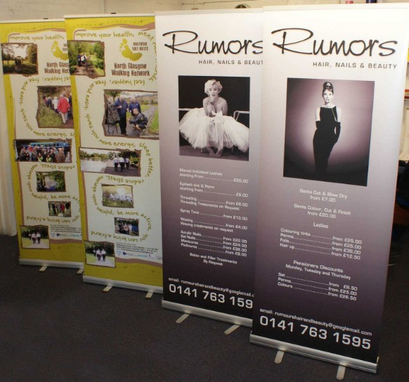 Replacement Graphics Pull Up Roller Banner Banner